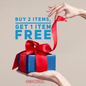 🚨Buy 2 Get 1 FREE!!!!🚨